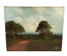 ANTIQUE CALIFORNIA ART LANDSCAPE OIL PAINTING DELANE JOSEPH JOHN ENGLEHART 16X20