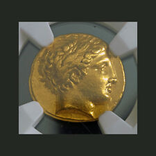 ANCIENT GOLD~ KINGDOM of MACEDON ~PHILIP II~ 359~336~BC ~NGC~XF~8.57g ~$5,888.88