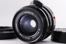 【B V.Good】 MINOLTA M ROKKOR 28mm f/2.8 MF Lens for Leica CL CLE From JAPAN #2012