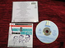 And the Miracles Vol. 2 ~ Smokey Robinson -  Early Motown CD WD72510