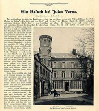 Ein Besuch bei Jules Verne Historical Memorabilia 1902