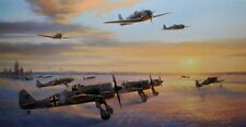 Ice Warriors by Nicolas Trudgian Krasnogvardeisk in Russia Fw190 3 signers