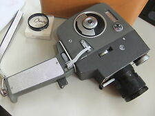 Movie cine camera LUMICON  RZ 337 8mm + case & lens   .. F18