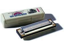 HOHNER BIG RIVER HARP 590 KEY OF F# DIATONIC 10-HOLE MODULAR SYSTEM HARMONICA