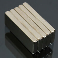 5pcs N52 Grade Rectangular Block Magnets 25x10x3mm Rare Earth Neodymium