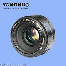 Yongnuo YN50mm F1.8 lens , AF/MF Standard Prime Lens for Canon EOS Rebel Camera