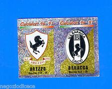CALCIATORI PANINI 1996-97 Figurina-Sticker n. 621 - AREZZO BARACCA SCUDETTO -New