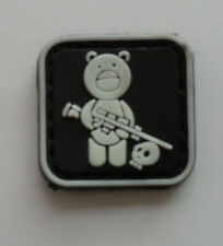 NEW Sniper Bear PVC 3D Rubber Mini  Velcro Patch       SK     330