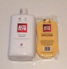 AUTOGLYM SUPER RESIN POLISH 1 LITRE + HI-TECH POLISH APPLICATOR SPONGE