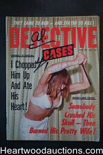 """Detective Cases"" June 1971 Wild Cover"