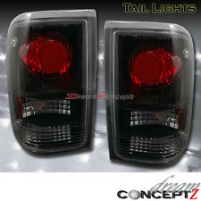 1993 1994 1995 1996 1997 FORD RANGER TAIL LIGHTS BLACK HOUSING CLEAR LENS LAMPs
