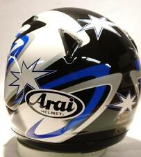 Arai Astro/J Parkes 2 Star Blue motorcycle helmet full face Astral Xs Md Lg XL