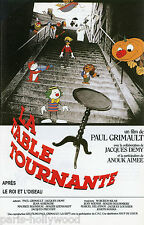 PAUL GRIMAULT JACQUES DEMY LA TABLE TOURNANTE 1988 RARE SYNOPSIS