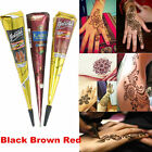 Hot Selling Natural HENNA Cones temporary ink paste tattoo kit body art jagua