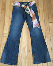JOU JOU Super Flare Ribbed Jeans Size 7/8