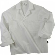 5 X Denny's Chef 100% Cotton Lightweight Slipover Chefs Catering Shirt L #15D1C