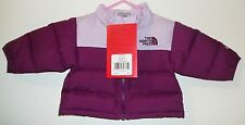 NWT THE NORTH FACE KIDS INFANT BABY THROWBACK NUPTSE DOWN JACKET NEW sz 0-3 M