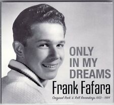 "New Arizona Teen Rock CD by FRANK FAFARA ""Only In My Dreams"" Mascot & MCI labels"
