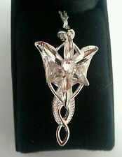 LOTR: FAIRY PRINCESS ARWEN EVENSTAR NECKLACE, New, Collectible