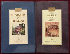 Ellen G White Duo: Ministry of Healing ~ The Desire of Ages EGW SDA Books