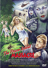 THE PRISON ISLAND MASSACRE - DVD UNCUT MOVIES - HORREUR - JESS FRANCO - BETHMANN