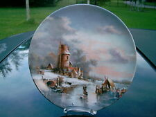"Furstenberg "" Refreshment after Winterfest"" Ludwig Muninger  Plate in German"