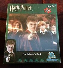 Harry Potter Visual Echo Lenticular 3D Effect 100 pc Jigsaw Puzzle NEW SEALED