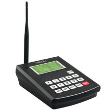 SINGCALL.Wireless Kitchen Coaster Paging System,One Receiver, Can't Use Alone