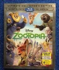 Zootopia (3D Blu-ray/DVD, Digital HD, w/ Slipcover) Ultimate Collector's Edition