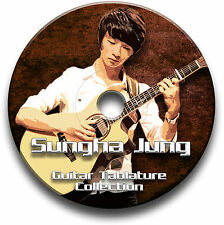 SUNGHA JUNG FINGERSTYLE GUITAR TABS TABLATURE SONG BOOK SOFTWARE CD