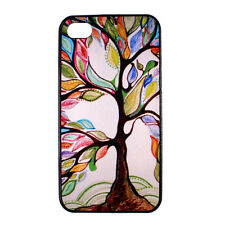 Colorful Tree Designer Hard Back Case Cover Skin for Apple iPhone 4 4S 4G 4th