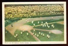 c. 1920 TORONTO MAPLE LEAFS Baseball Stadium & Team Postcard
