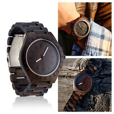 Men's Luxury Wristwatch Casual Wooden Quartz Watches Fashion Natural Wood Watch