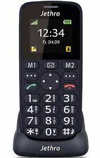JETHRO [SC118] UNLOCKED GSM SIMPLE SENIOR MOBILE CELL PHONE WITH SOS EMERGENCY