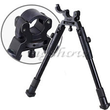 "6"" Fold Up Clamp Bipod For Rifle Barrel Scope Collapsible Legs Hunting Mount New"