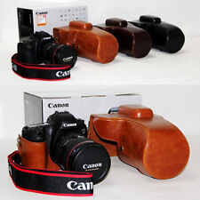 New Retro Vintage Leather Camera case bag for Canon EOS 6D 6-D Digital SLR