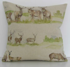 "Voyage Moorland Stag Deer 16"" Cushion Cover"