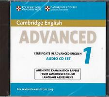Cambridge CERTIFICATE IN ADVANCED ENGLISH CAE 1 Audio CDs (2) for 2015 Exam @NEW