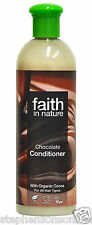Faith in Nature Chocolate Conditioner Dark Hair Paraben Free 400ml