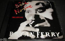 BRYAN FERRY cd BETE NOIRE the Right Stuff Johnny Marr KISS AND TELL limbo