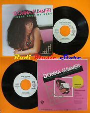 LP 45 7'' DONNA SUMMER There goes my baby Maybe it's over 1984 italy cd mc * dvd