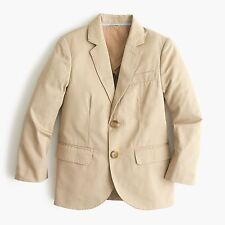 J.crew BOYS' LUDLOW SUIT JACKET CHINO Size 10 New With out tag