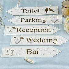 Wedding Sign Set To Have And To Hold Decorations
