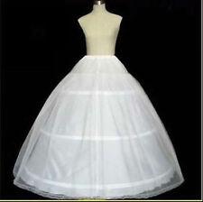 Lager Brautkleid Petticoat Klassiker Reifrock Unterrock 2 Lagig 3 Ringe p3216