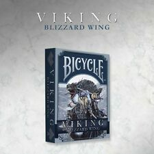 VIKING BLIZZARD WING BICYCLE DECK OF PLAYING CARDS BY CROOKED KINGS MAGIC TRICKS
