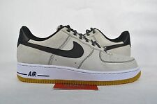 NEW Nike Air Force 1 Low PURE PLATINUM WHITE GUM BOTTOM 488298-068 sz 8