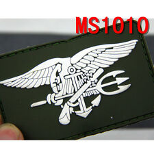Hot Sale Outdoor PVC Tactical Military US Navy Seal Patch Combat Badge Patches