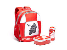 Official Yamaha Kids Motorbike Backpack Bag & Lunch Box Set