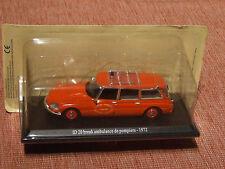 1972 citroen ID20 ambulance échelle 1:43