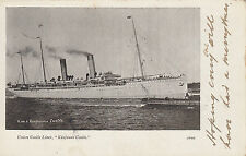 1904 used postcard ~ RMS Kinfauns Castle - Cape Colony Ocean Post Office Seapost